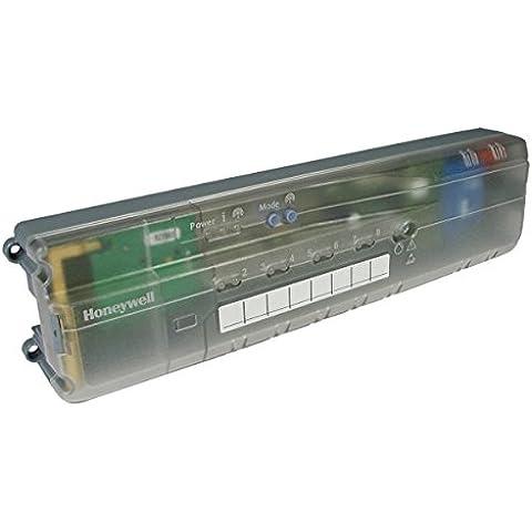 HONEYWELL; Controlador para suelo radiante; Regulacion de temperatura individual 5 zonas (+3 ampliable); Gestiona los grifos motorizados de cada zona, la bomba, la caldera y el termostato de cada zona. Compatible con
