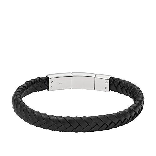 Fossil Herren-Armband JF02472040, schwarz