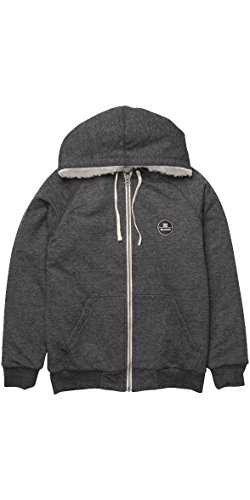 2016 Billabong All Day Sherpa Zip Hoody DARK GREY HEATH Z1FL12