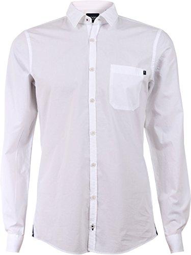 Joop! Herren Business Hemd Herris aus Baumwolle Weiß (100)