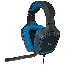 Logitech G430 Gaming Headset (PC / PS4, Zertifiziert) Kopfhörer-Set, G430 0 Schwarz