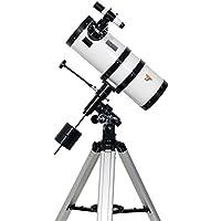 TS-Optics Newton Spiegelteleskop Teleskop 150/1400 inkl. EQ3-1 Montierung komplettset für Kinder Einsteiger Beginner Anfänger Astronomie. Megastar1550