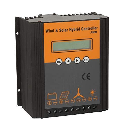 MPPT Solarpanel-Laderegler, Wind Solar Hybridladeregler PWM Laderegler 48V(600W)