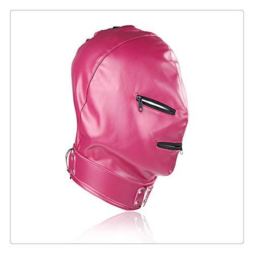 Z-one 1 Ein Upgrade Produkt, Maske Kopf, Reißverschluss, Cosplay, Party, Kostüm (Rose) (Kopf Reißverschluss Kostüm)