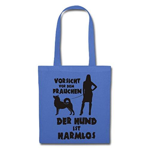 Husky: Vorsicht vor dem Frauchen – der HUND ist HARMLOS Hellblau