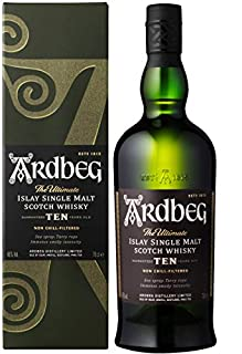 ArdbegTen Years Old Gift Box, 70 cl (B008U7SUDE) | Amazon Products