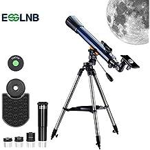 ESSLNB Télescope Astronomique 70070 Lunette Astronomique pour Enfant Adulte  avec Trépied Et Adaptateur Téléphonique Smartphone Viseur 321a26689510