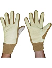 Mens Warm & Weatherproof Insulated Winter Gloves With Suede