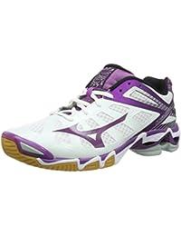 Mizuno W Wave Lightning - Zapatillas de voleibol de material sintético para mujer