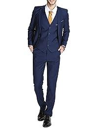 Cloudstyle Haut de costume mince affaires mariage décontraction-trois pièces-costume homme-costume moderne