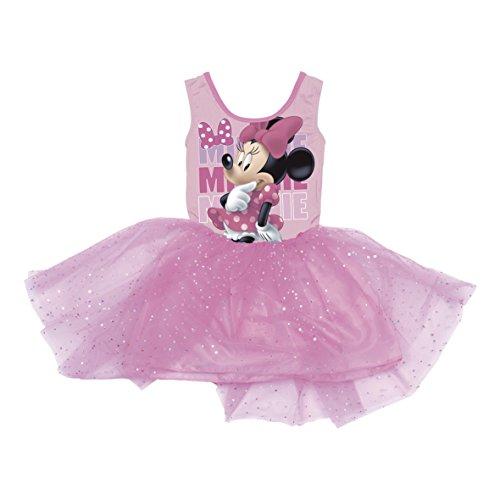 Disney Minnie Maus Kleid Sommerkleid Ballettkleid Mädchenkleid WD11043 (6 Jahre)