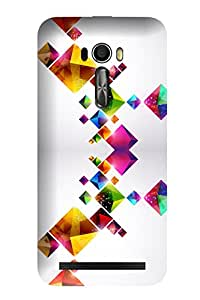 Accedere Printed Back Cover Case for Asus Zenfone Selfie ZD551KL
