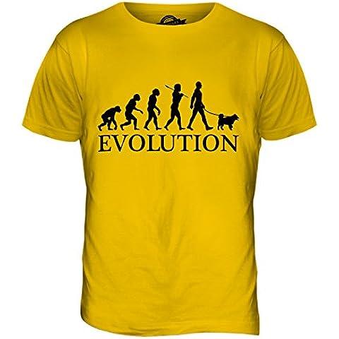 CandyMix Spitz Finlandés Evoluzione Umana Unisex Bambino Ragazzi/Ragazze T-Shirt