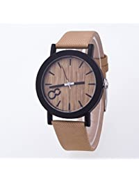 Wooden Dial Stylish hand made watches for Men and Women - WD01DB003