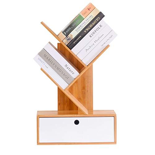 Bücherregale Zeitungs-Regal Lagerregal-einfacher Bambus-Baum-kreatives Bodenregal-Wohnzimmer-Innenwirtschafts-Schreibtisch Mehrschichtiges Fach -ablagen -