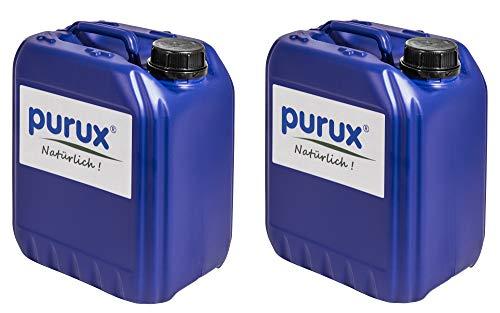 Pro Skimmer (Purux Oxy3 pro 25 Liter Bundle (5x5L) Wasserpflege chlorfrei statt chlor flüssig/chlortabletten oxy-3)