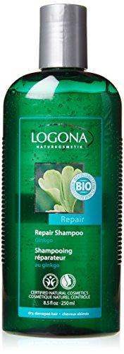 Logona Ginkgo Repair Shampoo für trockenes und geschädigtes Haar 250ml
