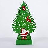 Christmas LED Weihnachtsbaum - Weihnachtsbaum Leuchtschilder Zimmer Dekor Lampe Licht Weihnachtsbaum Zeichen geformt Dekor Licht Schlummerleuchten für Weihnachten, Geburtstagsfeier, Kinderzimmer, Wohn