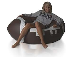 bean bag warehouse pouf poire ballon de foot pour enfant. Black Bedroom Furniture Sets. Home Design Ideas
