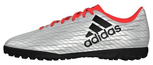 adidas Jungen X 16.4 TF J Fußballschuhe, Plata (Plamet/Negbas/Rojsol), 30 EU