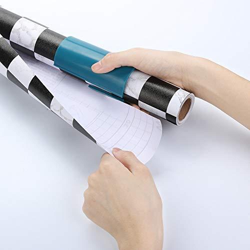 Schwarzer Freitag Papierschneider Weihnachten Geschenkpapier Cutter Mini Gleit Tragbare Flexibel Gleiten Wrapping Paper Cutting Werkzeuge Schnitte in Sekunden Geschenkpapier Rollenschneider Qmber