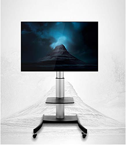 Mobile TV-Stand Trolley Cart Heavy Duty TV Stand 40-80 Zoll LCD-LED OLED Aluminum LCD LED TV Cart Mobile Hotel, Konferenzraum, Shopping Mall Lehre Tv Bracket