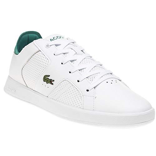 Lacoste Herrenschuh/Sneaker Novas 219SMA,Weiß Grün,42 EU