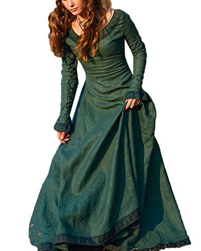 3dad608872532 ▷ Green Woman Medieval Costume to Buy at the Best Price - The ...