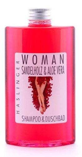 Woman Shampoo & Duschbad mit Sandelholz & Aloe Vera, 200 ml