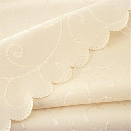 Tischdecke Muster überprüft Tischdecken rechteckige runde Bankett Hochzeitsfeier Hotel Dekoration Cote d 120 x 180 - Runde Ivory 120 Tischdecke