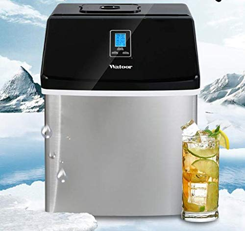 Gewerbe/Haushalt Eismaschine Milch Tee Shop/Cafe/Cold Drink Shop Eiswürfelmaschine Edelstahl Eismaschine