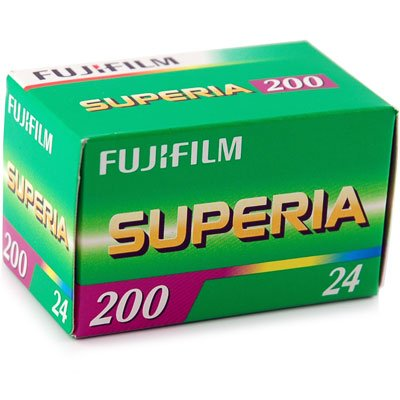 Fuji Superia 200 Film 24 Bilder (3er Pack)