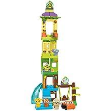 Mega Bloks - Set de juego, Aventura en el safari (Mattel DPJ58)