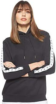 Calvin Klein Jeans Women's Monogram Tape Hoodie Heavyweight K