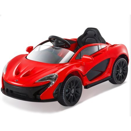 GetBest Mclaren Battery Operated Ride on Sports Car with Remote (Red)