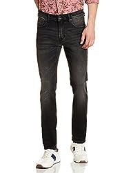 Pepe Jeans Mens Scott Md V Slim Fit Jeans (8907557281345_PIMD200008USED BLACK36)