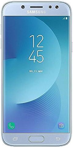 Samsung Galaxy J5 2017 4G [Version Import] (Ecran : 5,2 pouces - 16 Go - Nano-SIM - Android) Bleu Argenté