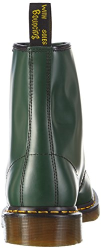 Dr. Martens 1460 Smooth, Stivaletti Unisex – Adulto Verde (1460 Smooth 59 Last Green)
