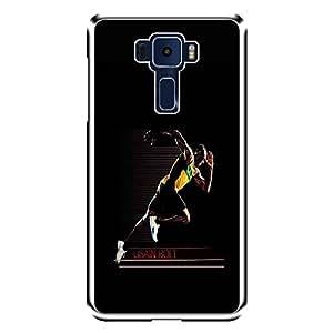 "MOBO MONKEY Designer Printed 2D Transparent Hard Back Case Cover for ""Asus Zenfone 3 ZE552KL"" - Premium Quality Ultra Slim & Tough Protective Mobile Phone Case & Cover"
