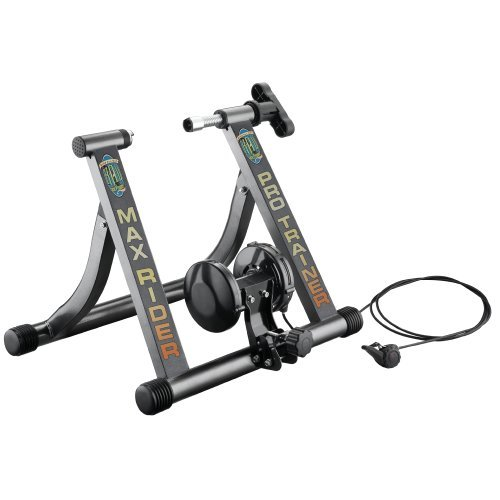 RAD Cycle Products Indoor Exercise Bike Trainer with Six Levels of Resistance Work Out by RAD Cycle Products