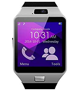 Generic Bluetooth Smart Watch with SIM and Memory Card Support For Android & iOS Devices (Assorted color)