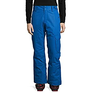 Ultrasport Advanced Ski Pants Cargo for Men, Ski Pants, Snowboarding Trousers, Blue, 2X-Large