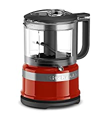 Hot Sauce : KitchenAid KFC3516HT 3.5 Cup Mini Food Processor, Hot Sauce