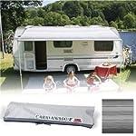Fiamma Campingartikel 071440cm Roll-Out Caravan Vorzelt–Deluxe grau (06760g01t)