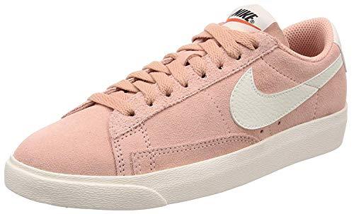 Rosa Nike Blazer (Nike Sneaker W Blazer Low SD Coral Stardust, Größe:40.5)