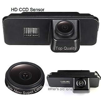 Dynavsal-Auto-Rckansicht-Kamera-1280-720-Pixel-1000TV-Linien-Super-Kamera-Wasserdicht-Nachtsicht-Einparkhilfe-Rckfahrkamera-fr-VW-New-BeetlePassat-CCPhaetonSciroccoPoloGolfSeat-LeonSkoda