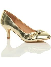 Ajvani - Zapatos de vestir para mujer