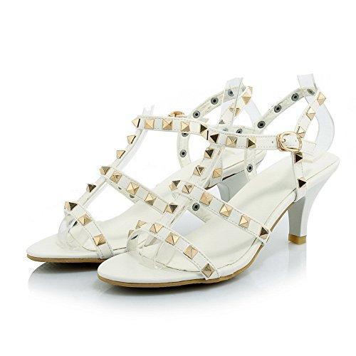 Adee , Sandales pour femme Blanc
