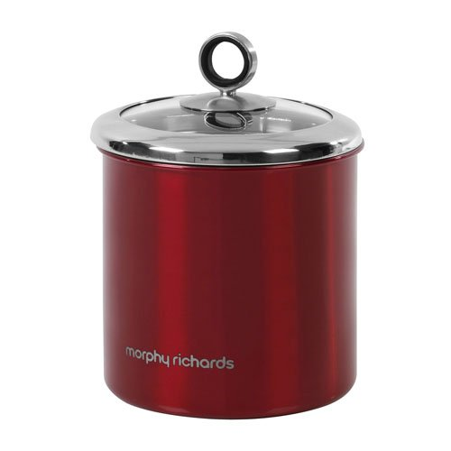 morphy-richards-accents-large-storage-canister-with-glass-lid-red