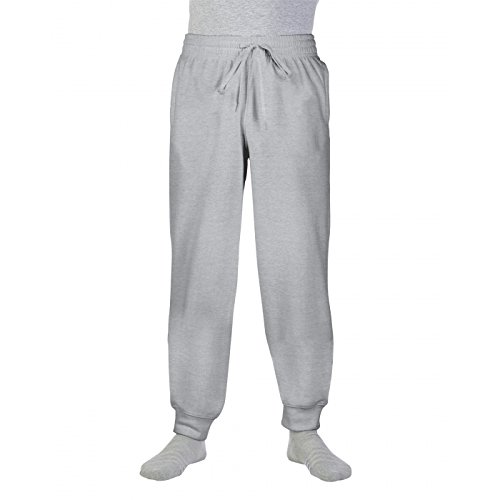 Gildan Heavy BlendTM Sweatpants with Cuff in Sport Grey Größe: S -
